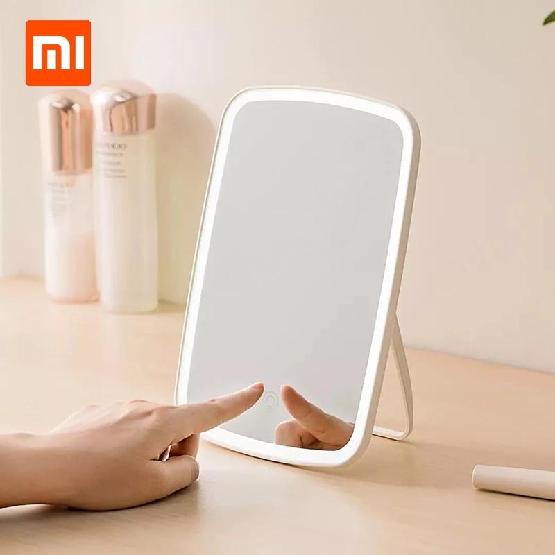 Зеркало Xiaomi MiJia Jordan & Judy для макияжа с подсветкой сенсорное!