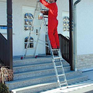 Лестницы строительные и садовые