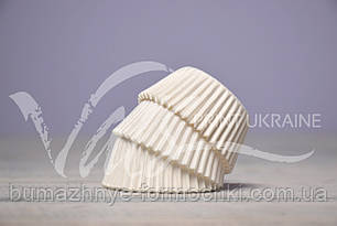 Одноразовые формочки  для выпечки кексов, 40х27.5 мм