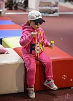 Детский Утепленный Спортивный Костюм на девочку