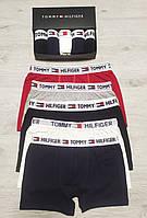 Набор мужских трусов TOMMY  HILFIGER 5 шт без подарочной упаковки Боксеры трусы шорты томми хилфигер