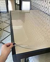 Мягкое стекло, прозрачная силиконовая скатерть на стол, защита для мебели Soft Glass