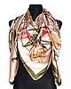 Шелковый платок Fashion Флоренция 135*135 см пудровый