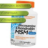 Для суставов и связок Doctor's BEST Glucosamine Chondroitin with MSM 120 капсул
