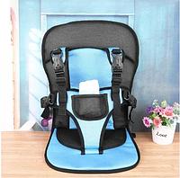 Бескаркасное автокресло / Детское авто-кресло бескаркасное от 6 месяцев до 3 лет