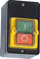 Пост  АВАРІЙНИЙ  10A  230/400B  ЗАХИСТ  IP54 (1червоний грибок, корпус - жовтий  NC)  ElectrO (шт.)