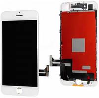 Модуль iPhone 7 PLUS white белый дисплей экран, сенсор тач скрин для телефона смартфона
