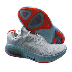Кроссовки похожие на Nike Joyride Run Flyknit Бело-бирюзовые