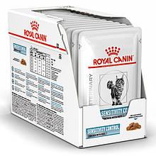 Лечебный влажный корм для кошек Royal Canin Sensitivity Control Feline с курицей блок 85 г*12 шт.