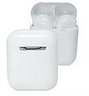 Блютуз навушники i100. Бездротові навушники Bluetooth білі, фото 5
