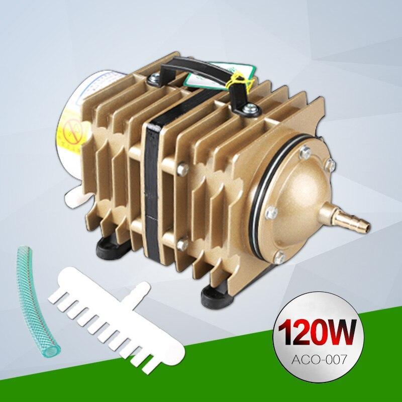 Компрессор SunSun ACO-007, 90 л/мин, 120 W