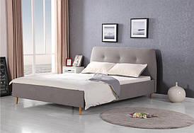 Ліжко DORIS 160 сірий Halmar