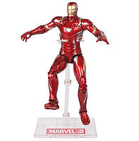 Фигурка Железный Человек Марк 46 с держателем, Мстители, 18 см - Iron Man Mark 46, Avengers, Marvel - 143286