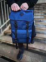 Рюкзак Camping  Мужской синий, Рюкзак для ноутбука