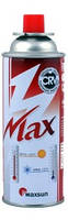 Газовый баллон MaxSun 220 г для горелок, зажигалок
