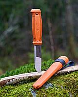 Нож Morakniv Kansbol (13505) нержавеющая сталь Sandvik 12C27 (цвет Orange)