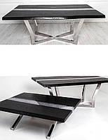 Журнальные столы из нержавеющей стали