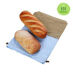 Эко мешочек для хлеба (лён + хлопок)