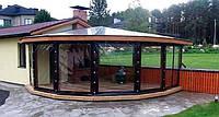 Мягкие окна,шторы ПВХ
