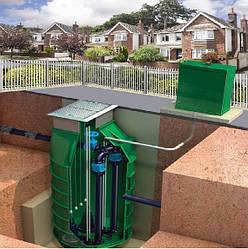 Монтаж канализационной насосной станции