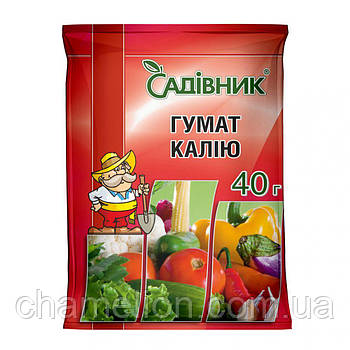 ГУМАТ калия 40г.