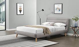 Ліжко ELANDA 140 світло-сірий Halmar