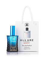 Парфюмированная вода Chanel Allure homme Sport 50 мл для мужчин и парней