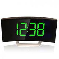 Настольные зеркальные часы DT-6507 с подсветкой