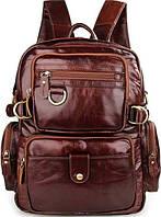 Рюкзак Vintage 14520 кожаный Коричневый, Коричневый, фото 1