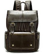 Рюкзак Vintage 14668 кожаный Коричневый, Коричневый, фото 1