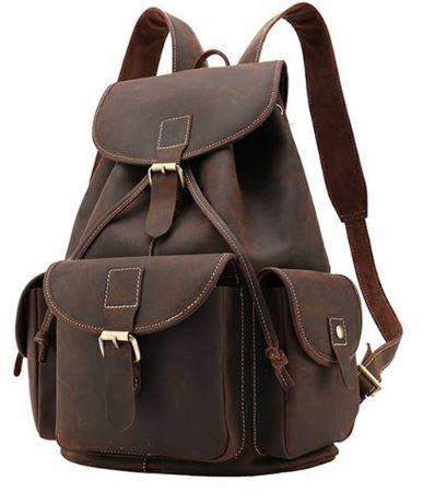 Рюкзак Vintage 14713 кожаный Коричневый