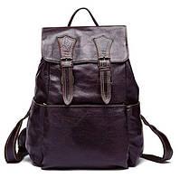 Рюкзак Vintage 14714 кожаный Сливовый, фото 1