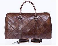 Дорожно-спортивная сумка Vintage 14752 Коричневая, Коричневый, фото 1