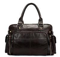 Дорожная сумка Vintage 14755 Коричневая, Коричневый, фото 1
