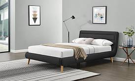 Ліжко ELANDA 140 темно-сірий Halmar