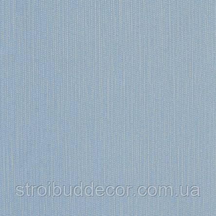 Обои бумажные акриловые (пенообои) а  0,53*10,05 однотонные  Слобожанские голубой