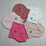 """М 4533. Шапка одинарна і баф для дівчаток """"серце"""" Vivatricko, 3-8 років, різні кольори, фото 6"""