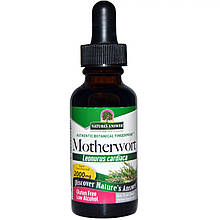 """Пустырник Nature's Answer """"Motherwort"""" с низким содержанием спирта, 2000 мг (30 мл)"""