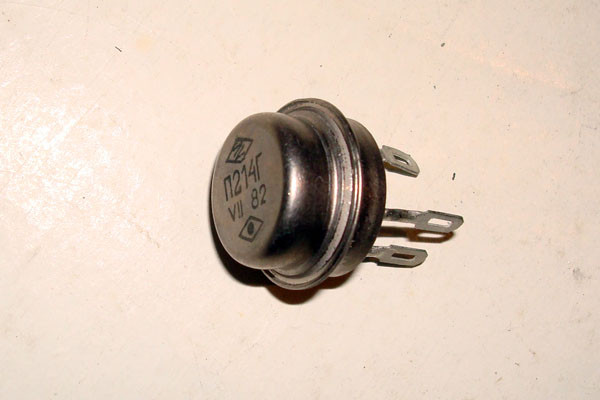 П214А транзистор германієвий PNP (5А 60В) 10W
