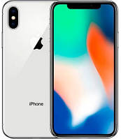 Смартфон Apple iPhone X 64GB Silver, Гарантия 12 мес.