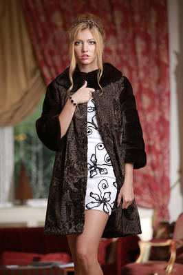 КАРАКУЛЬЧА SWAKARA пальто шубы и жилеты swakara broadtail jacket coat furcoat vest gilet