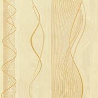 Обои бумажные акриловые (пенообои) а  0,53*10,05 абстракция  Слобожанские желтый