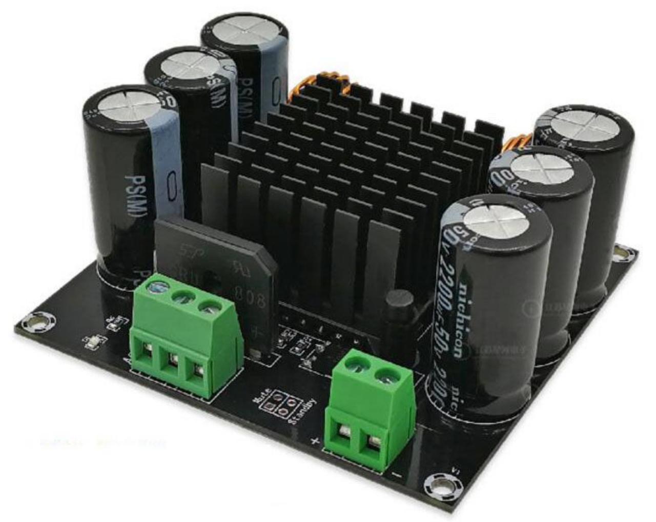 Усилитель XH-M253 TDA8954TH плата 1х420Вт 24В AC