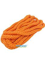 Скакалка для художественной гимнастики 3 м. Оранжевая.