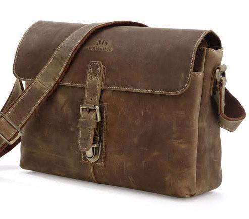 Сумка мужская Vintage 14090 Коричневый