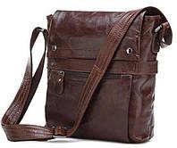 Стильная мужская сумка из натуральной кожи 14119, фото 1