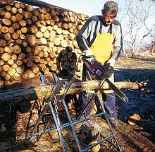 Стійка-козли SD 2 , Козли розкладні для розпилювання дерев'яних колод
