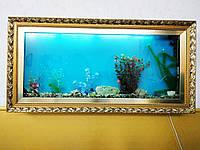 Настенный Аквариум Картина для Живых Рыбок в Полном Комплекте, Б У, Днепр