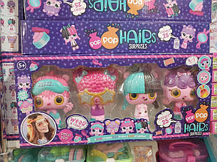 Набор Куклы-расчески Hairs Surprises с аксессуарами  P1102, фото 2