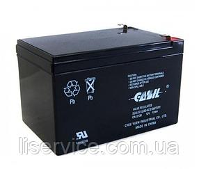 Аккумулятор свинцово-кислотный Casil CA12120 (12 V; 12 Ah)